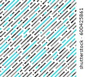 vector seamless parallel...   Shutterstock .eps vector #600425861