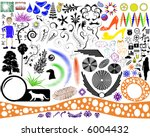 a diverse collection of... | Shutterstock .eps vector #6004432