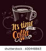 coffee menu graphic element for ...   Shutterstock .eps vector #600448865