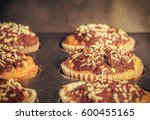 Baked Sweet Decorated Homemade...