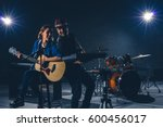 Musician Duo Band Singing A...