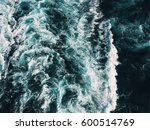 Violent Sea With Foamy Waves...