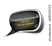 do you have any questions  ask... | Shutterstock .eps vector #600529415