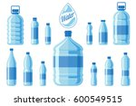 Plastic Water Bottle Set...