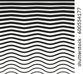 black and white striped lines.... | Shutterstock .eps vector #600554177