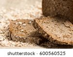 whole grain unleavened organic... | Shutterstock . vector #600560525