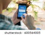 bangkok  thailand   january 31  ... | Shutterstock . vector #600564005