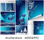 merry christmas and happy new... | Shutterstock .eps vector #60056992