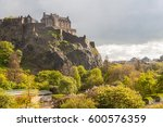Edinburgh Castle And Princes...