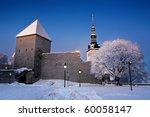 Winter Architectural Landscape...