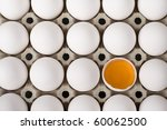eggs in a row | Shutterstock . vector #60062500