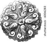 stylization of an ancient... | Shutterstock .eps vector #6006283