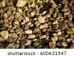 gray pebbles on the ground... | Shutterstock . vector #600631547