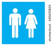 male and female sign  ... | Shutterstock .eps vector #600650834
