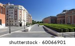 the modern building of prado...   Shutterstock . vector #60066901