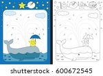 preschool worksheet for... | Shutterstock .eps vector #600672545