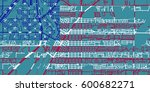 detailed vector map of idaho... | Shutterstock .eps vector #600682271