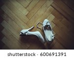 patent leather shoes for the... | Shutterstock . vector #600691391