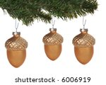 Acorn Christmas Ornaments...