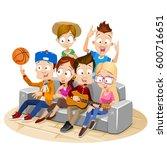 vector illustration of big... | Shutterstock .eps vector #600716651