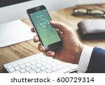 time alarm stopwatch clock... | Shutterstock . vector #600729314