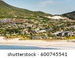 Hout Bay Beach Coastline On Th...