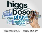 Higgs Boson Word Cloud Concept...