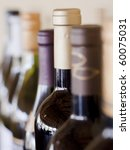 bottles of wine | Shutterstock . vector #60075031