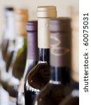 bottles of wine | Shutterstock . vector #60075031