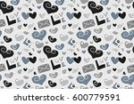 modern romantic background for... | Shutterstock . vector #600779591