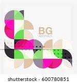 circle banner. vector template... | Shutterstock .eps vector #600780851