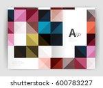 vector square minimalistic... | Shutterstock .eps vector #600783227