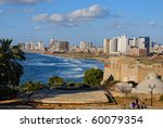 panoramic view of tel aviv ... | Shutterstock . vector #60079354
