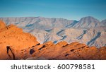 mountains in southern nevada at ... | Shutterstock . vector #600798581
