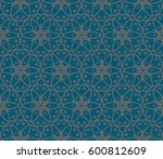 geometric shape abstract vector ...   Shutterstock .eps vector #600812609