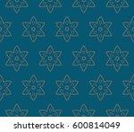 geometric shape abstract vector ... | Shutterstock .eps vector #600814049