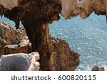 majestic ancient limestone... | Shutterstock . vector #600820115