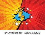 versus. vs. fight backgrounds... | Shutterstock .eps vector #600832229