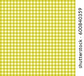 vector gingham pattern in... | Shutterstock .eps vector #600840359