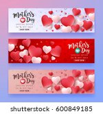 mothers day sale background... | Shutterstock .eps vector #600849185