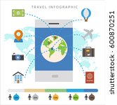colorful travel info graphic... | Shutterstock .eps vector #600870251