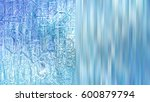 christmas blue background with... | Shutterstock . vector #600879794