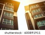 new modern apartment building | Shutterstock . vector #600891911