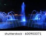 blue fountain | Shutterstock . vector #600903371