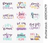hand drawn lettering phrase...   Shutterstock .eps vector #600924479