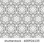 ornamental seamless pattern.... | Shutterstock .eps vector #600926135
