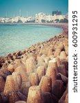 marine drive mumbai | Shutterstock . vector #600931295