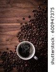 hot  coffee | Shutterstock . vector #600947375