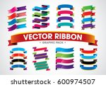 vector of colorful stylized... | Shutterstock .eps vector #600974507