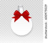 vector white round paper... | Shutterstock .eps vector #600975029